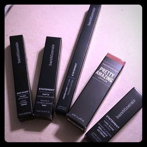 Set of 5 NEW BareMinerals Lip Colors and Liner